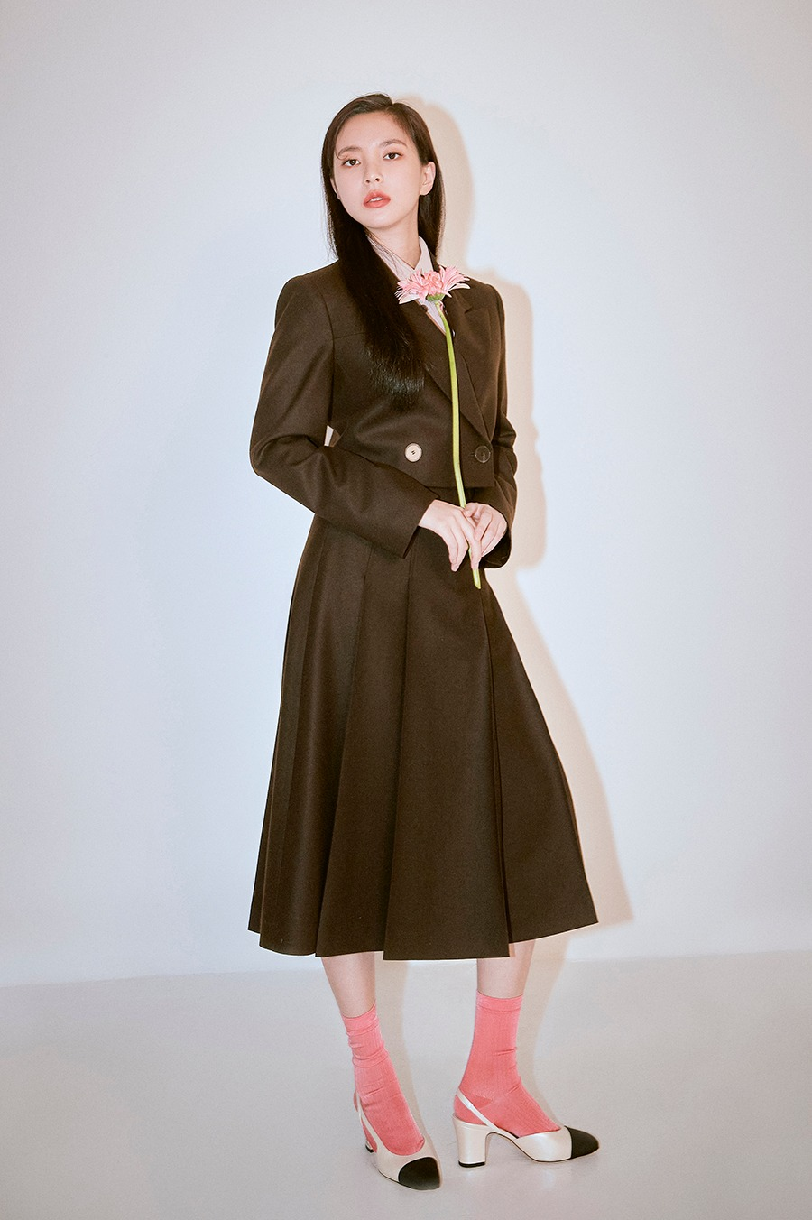 NO.1 SKIRT - BROWN