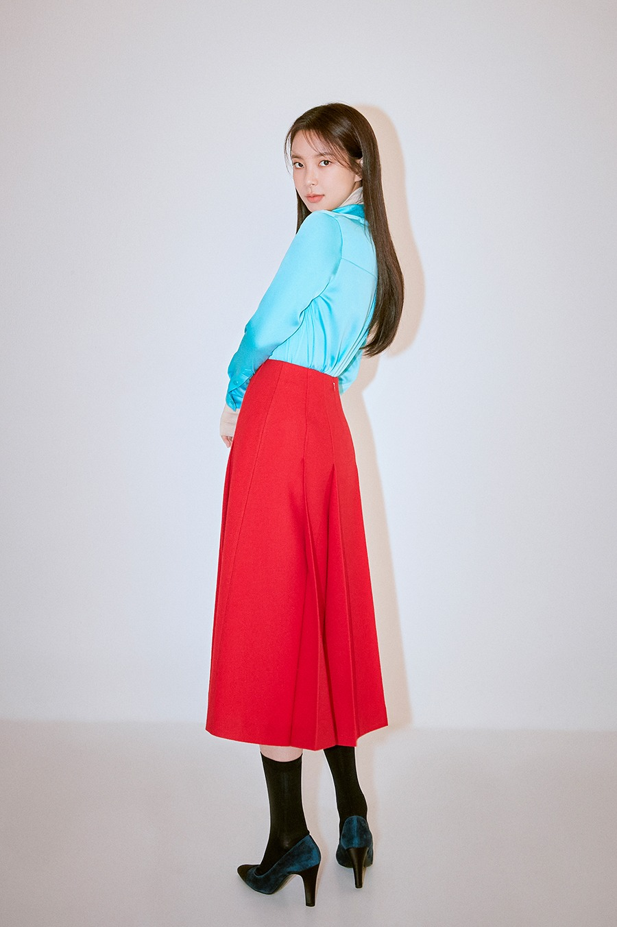 NO.1 SKIRT - RED