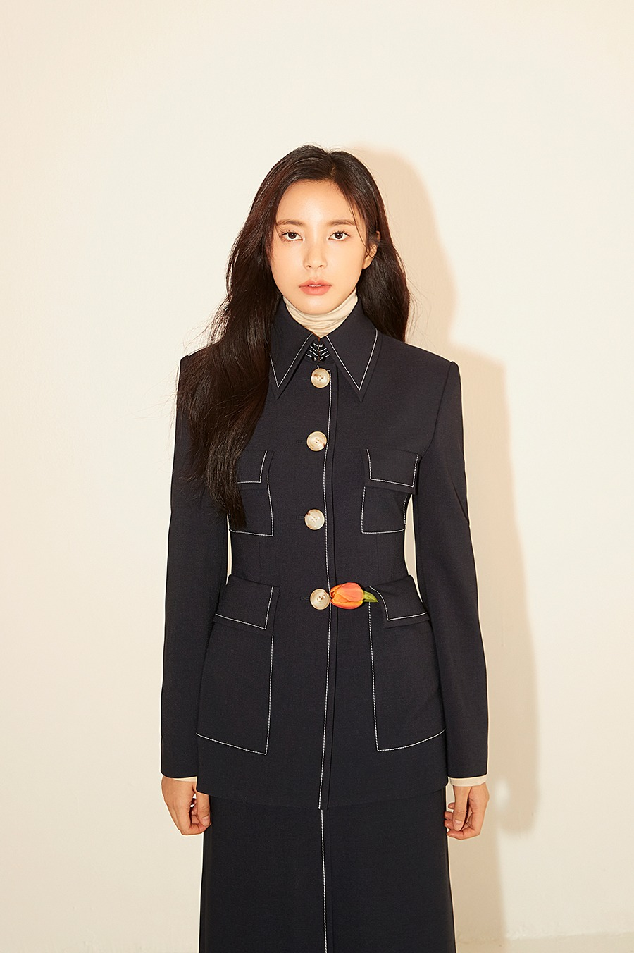 NO.6 JACKET - NAVY