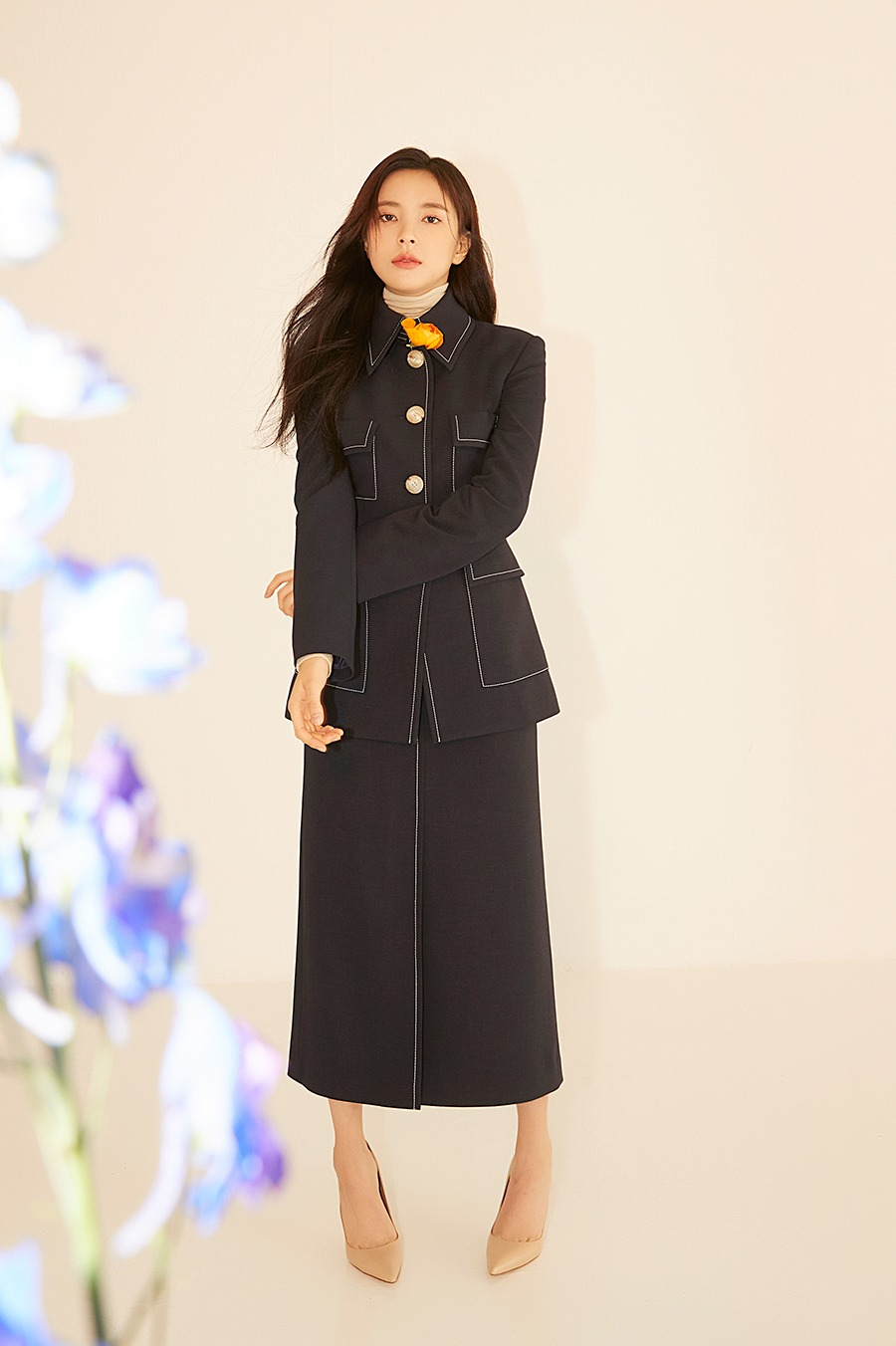 NO.3 SKIRT - NAVY