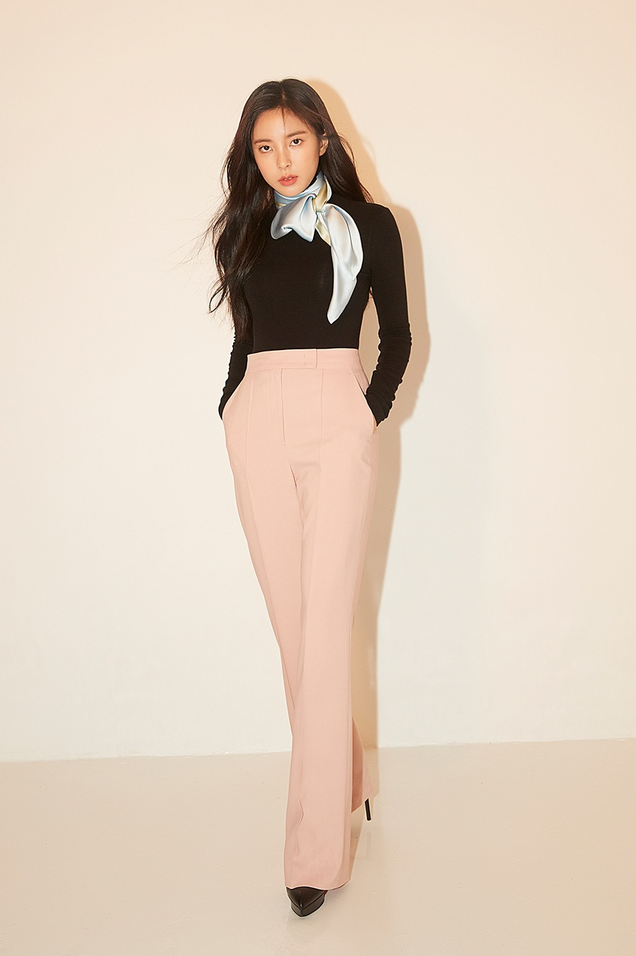 NO.4 PANTS - PINK BEIGE