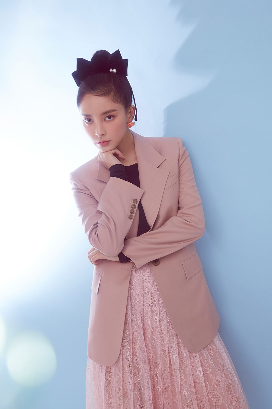 NO.11 JACKET - PINK BEIGE